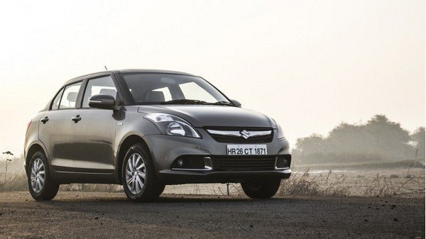 best used cars in India Maruti Suzuki Dzire silver front look