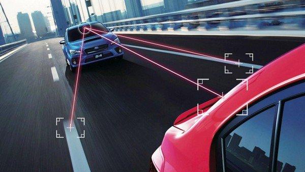 Auto emergency braking safety feature