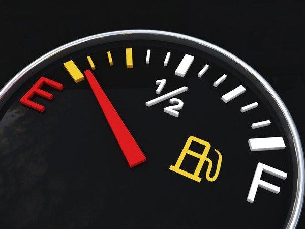 emty gas tank