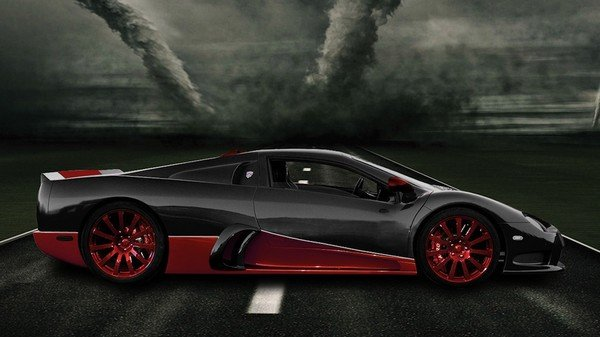Fastest Car - SSC Ultimate Aero XT - 1.300 horsepower