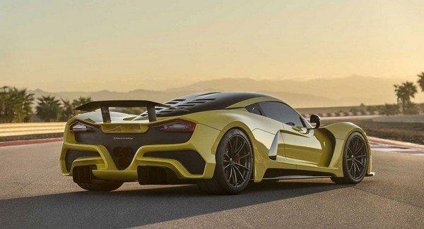 Fastest Car - Hennessey Venom F5 - 1.600 horsepower