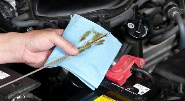 engine oil check when fuel consumption increases