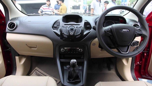 Ford Figo Aspire 2018 interior look
