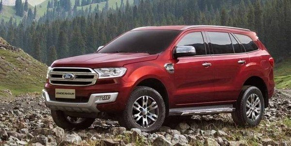 The Ford Endeavour