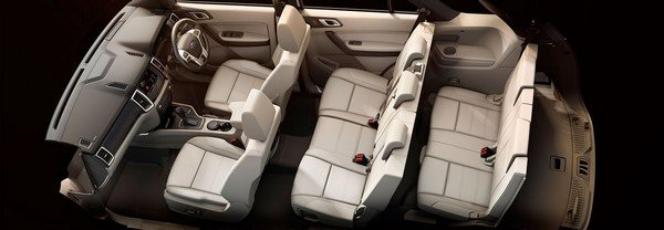 Ford Endeavour seats