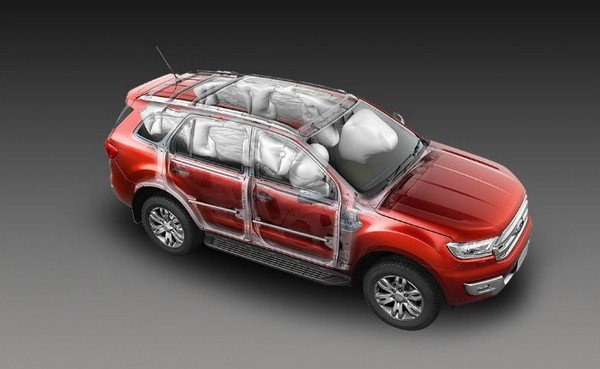 The ford endeavour airbags