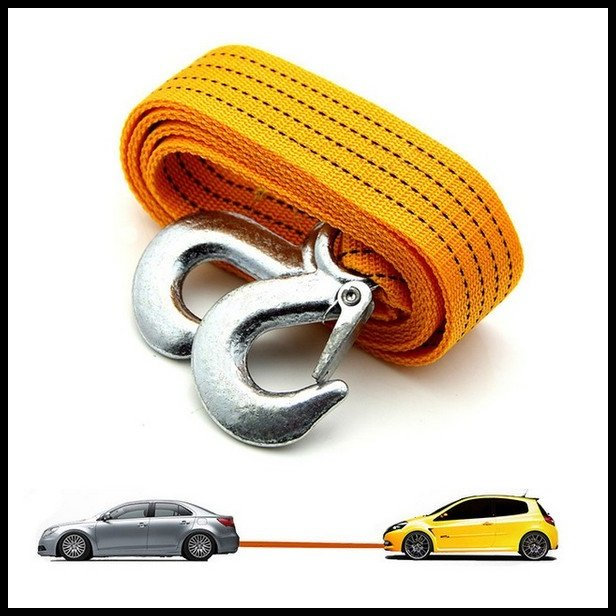 Towing ropes and cables car accessories