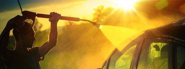 wash car under the sun car washing tips