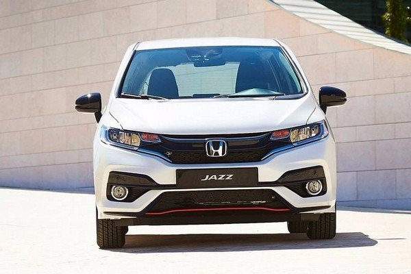 honda jazz 2018 india white exterior front