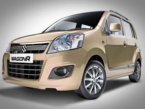 the best used cars in India 2018 Maruti Wagon R beige front look