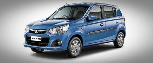 The Maruti Suzuki Alto front look