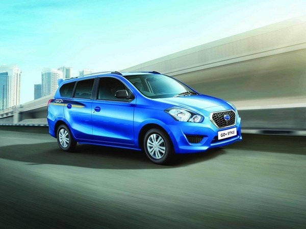 datsun Go Plus blue