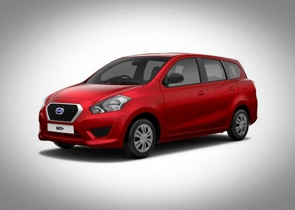 Datsun GO Plus Red front look