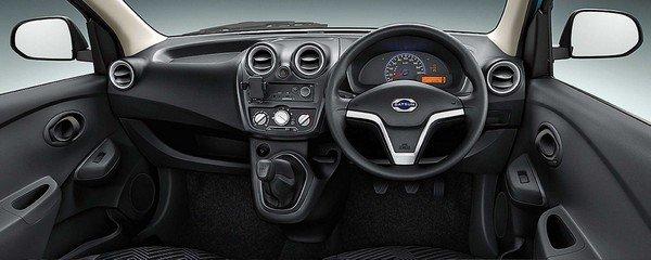 Datsun GO Plus interior dashboard