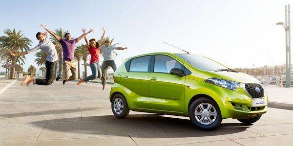 Datsun Redi-Go Side green