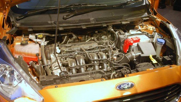 Ford Figo 2018 engine bay