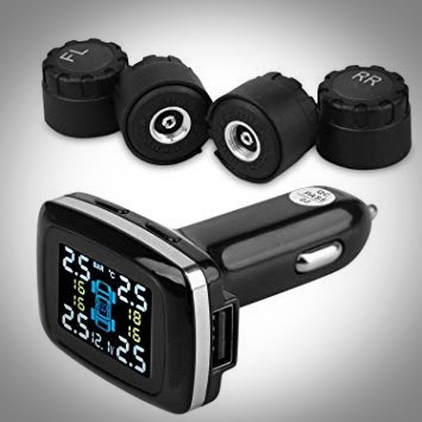 Tyre Pressure Monitoring System kit; display and 4 sensors