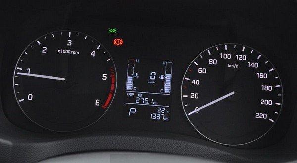 Hyundai Creta instrument cluster