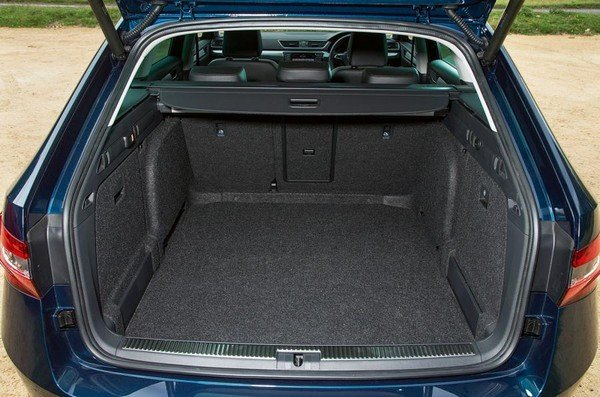 Skoda Superb 2018 cargo space