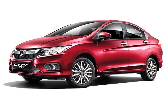 Honda City 2018 Exterior red colour front look