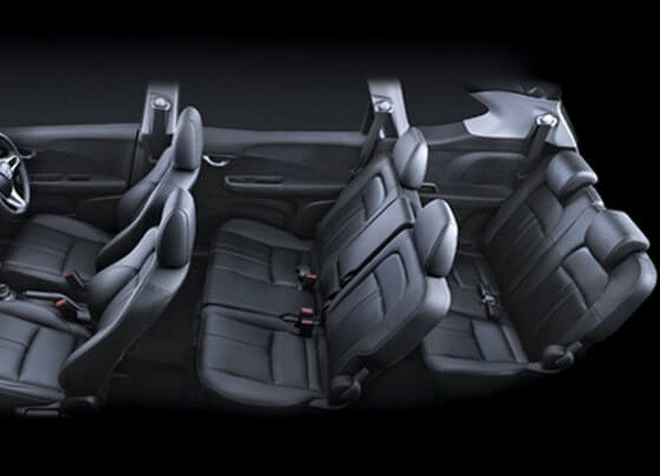 Honda BR-V seating arrangement