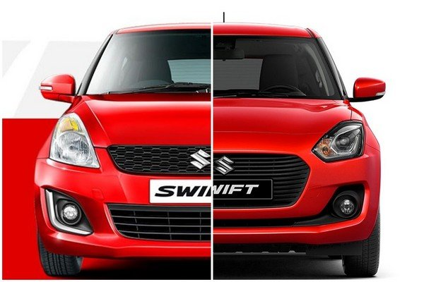 New Maruti Suzuki Swift 2018 red color - front look