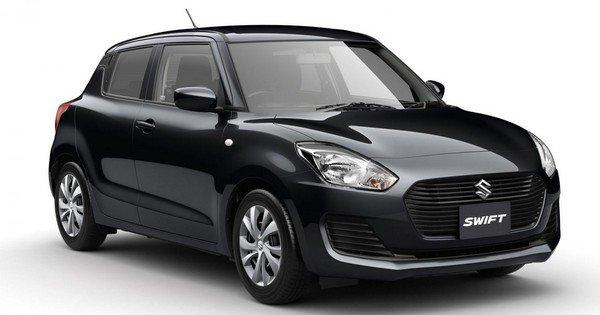 New Maruti Suzuki Swift 2018 black color - front look