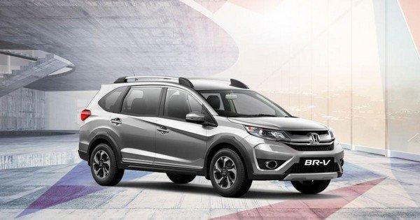 Honda BR-V Style Edition angle look
