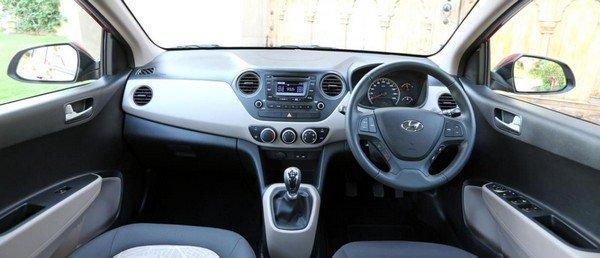 Hyundai Grand i10 Interior dashboard