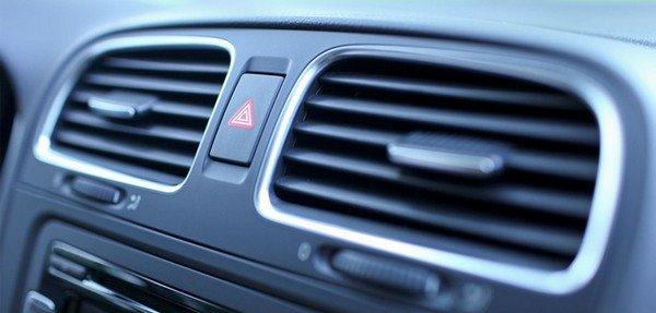 car A/C's right sideways view