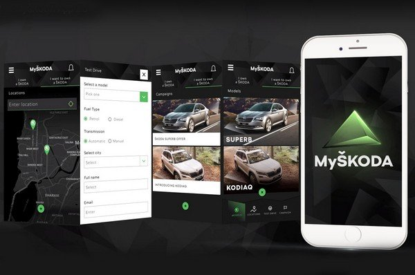 MySkoda app services