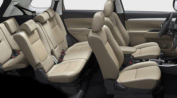 Mitsubishi Xpander interior seats beige color