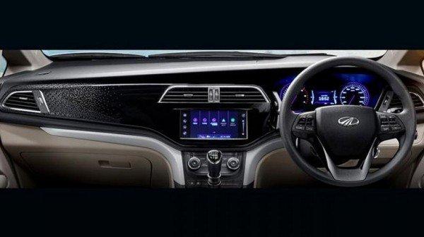 Marazzo MPV dark blue color front look interior