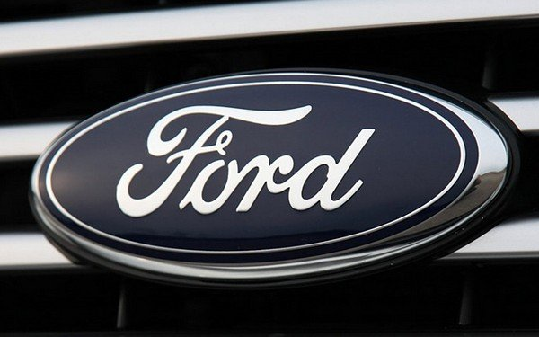 Ford blue and white oval logo