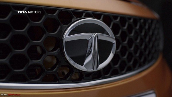 Tata Motors blue oval logo