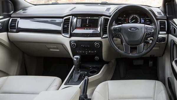 ford endeavour interior dashboard