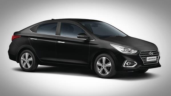Hyundai Verna 2018 front angle look