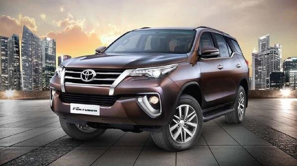 Toyota Fortuner 2018 Exterior front face outdoor background