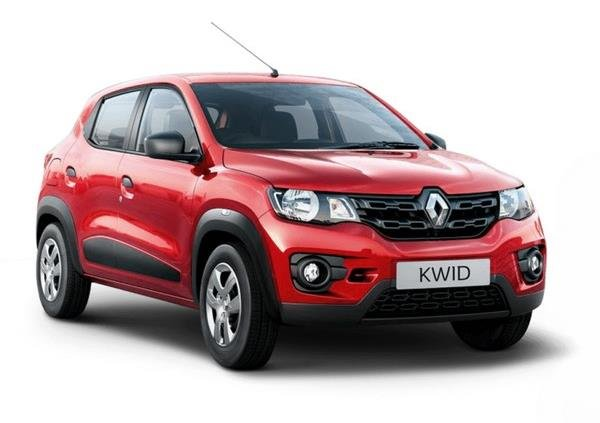 Renault Kwid's front face