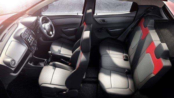 Renault Kwid Interior seats