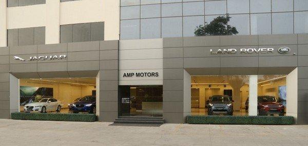 Jaguar Land Rover India's new dealership in Jaipur