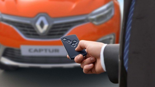 Renault Captur smart key