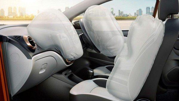 Renault Captur airbag inside