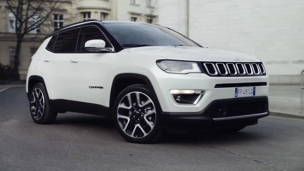 Jeep Black Pack edition parking white color