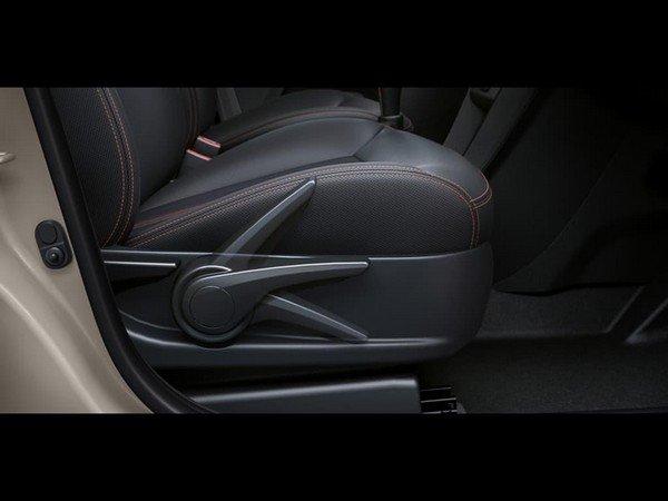 Tata Tiago NRG height adjustable seat