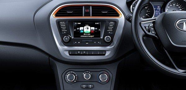 Tata Tiago five-inch touchscreen