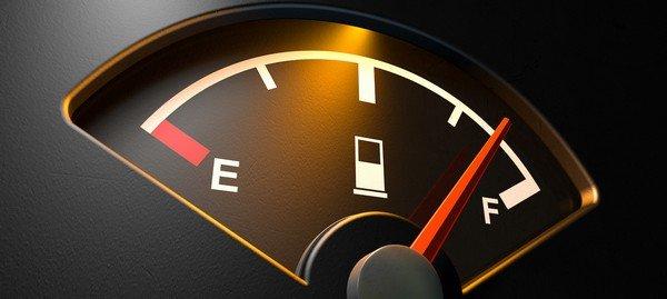 full tank autometer close look