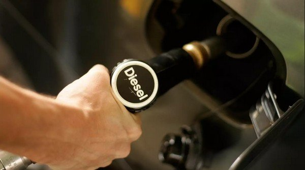 diesel fuel filling