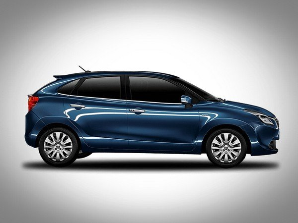 Maruti Suzuki Baleno side end