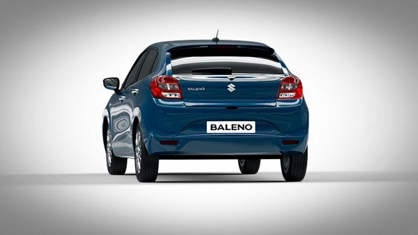 Maruti Suzuki Baleno rear end